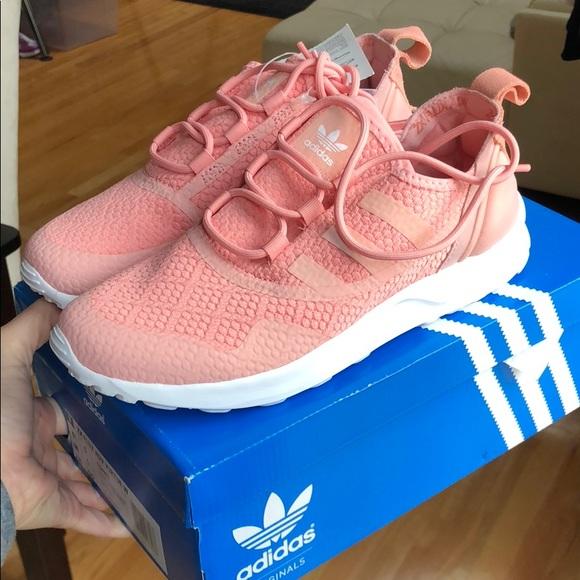 Adidas zapatos Brand New ZX flujo ADV virtud 65 Pink poshmark